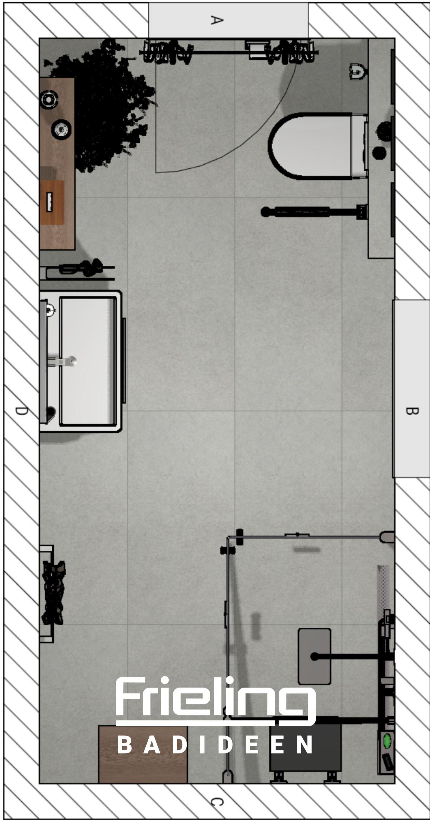 Pin Auf Modernes Badezimmer Badplanungen