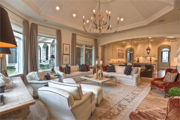 Luxury Homes For Sale Luxury Real Estate Home Home Additions Luxury Homes Decorate octagon shaped living room