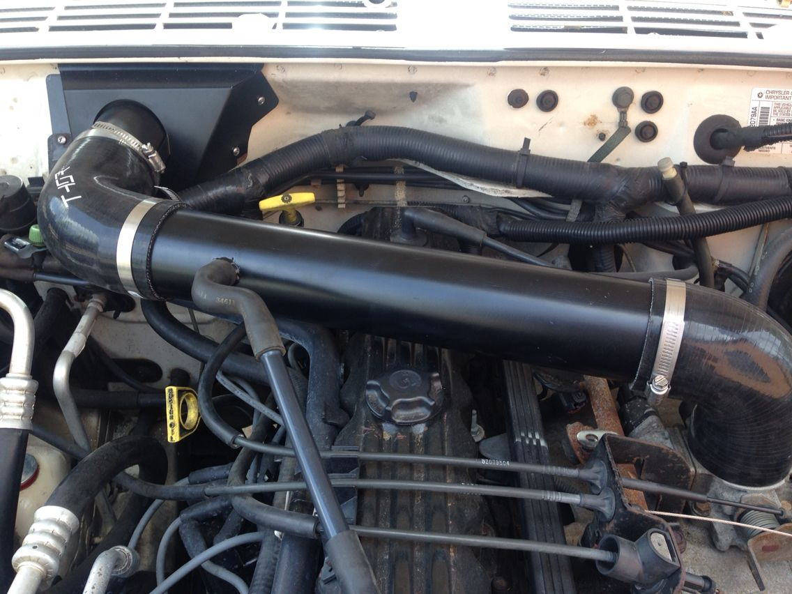 hight resolution of thor cowl intake jeep xj
