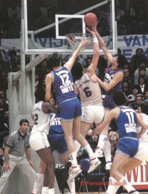 Cibona Zagreb vs Real Madrid, 87/88, Korac Cup final, 2nd leg.