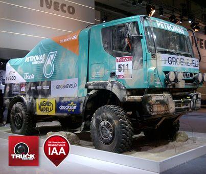 IAA 2012 Camion de rallye IVECO