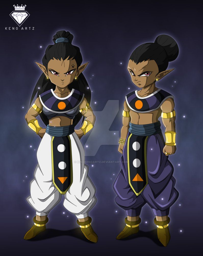 Zen And His Twin Sister Zella Are Both Gods Of The Same UniverseThere Power Is Linked So In Stead Having There Own They