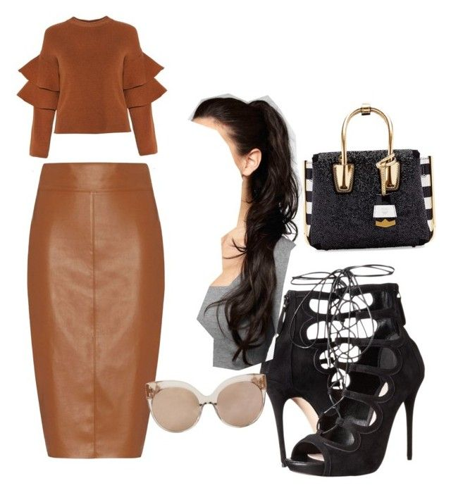 """""""Lunch"""" by trevordjones on Polyvore featuring Bailey 44, Alexander McQueen, MCM, Linda Farrow, women's clothing, women, female, woman, misses and juniors"""