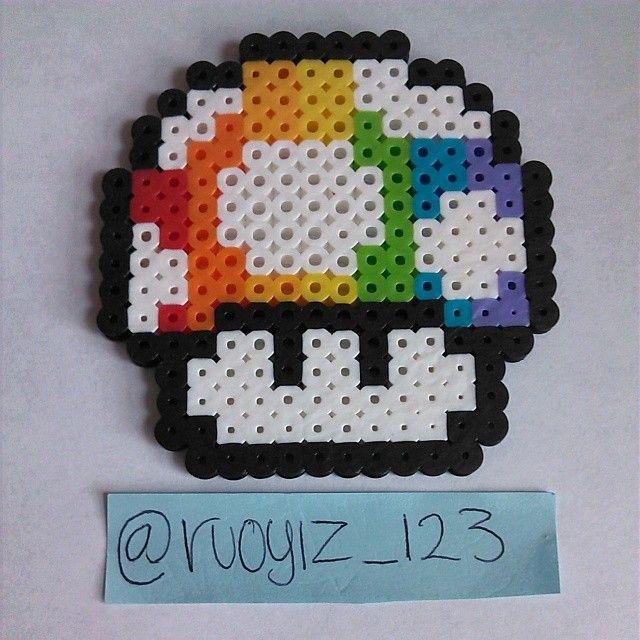 Rainbow Mario Mushroom