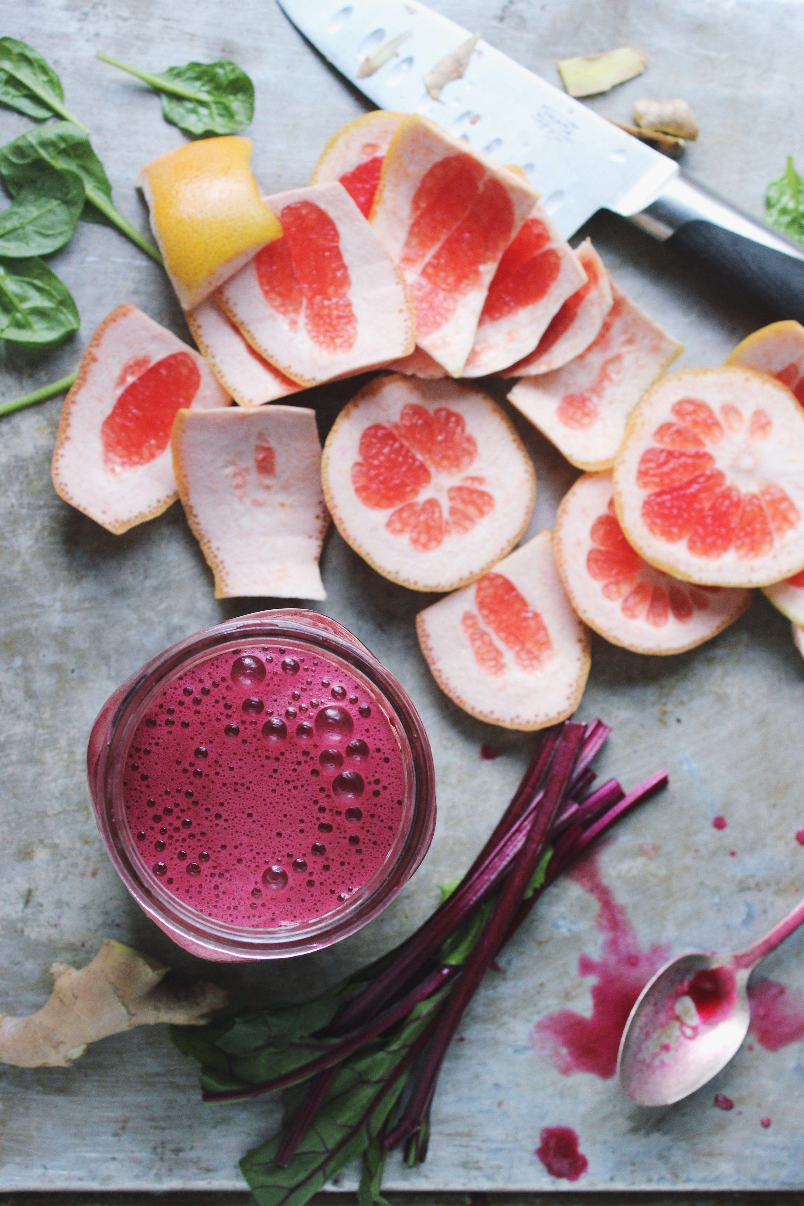 Beet Grapefruit Green Juice   Recipe   Juices for Health ...