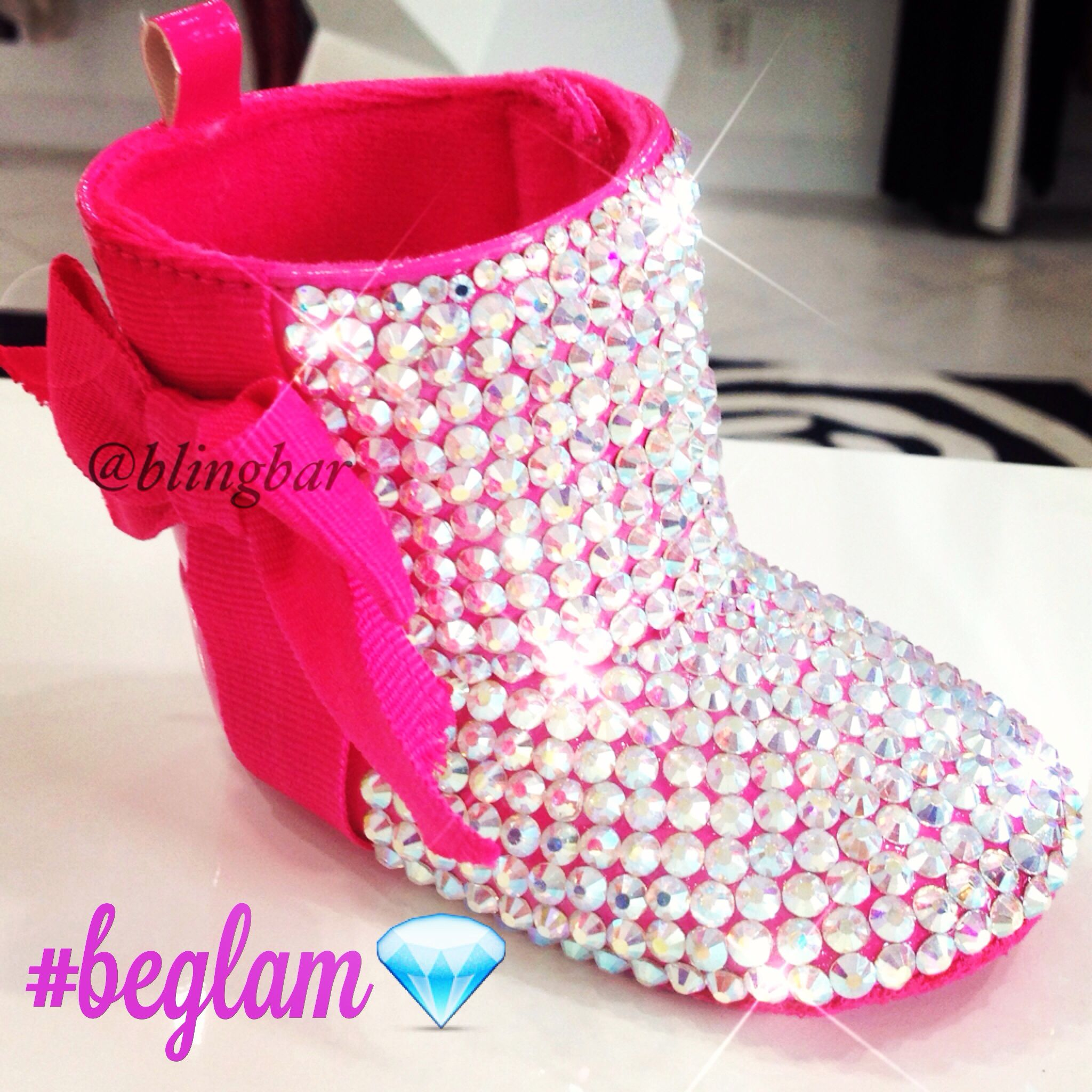 Baby bling boots available now at