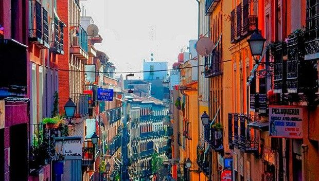 Lavapiés en Madrid