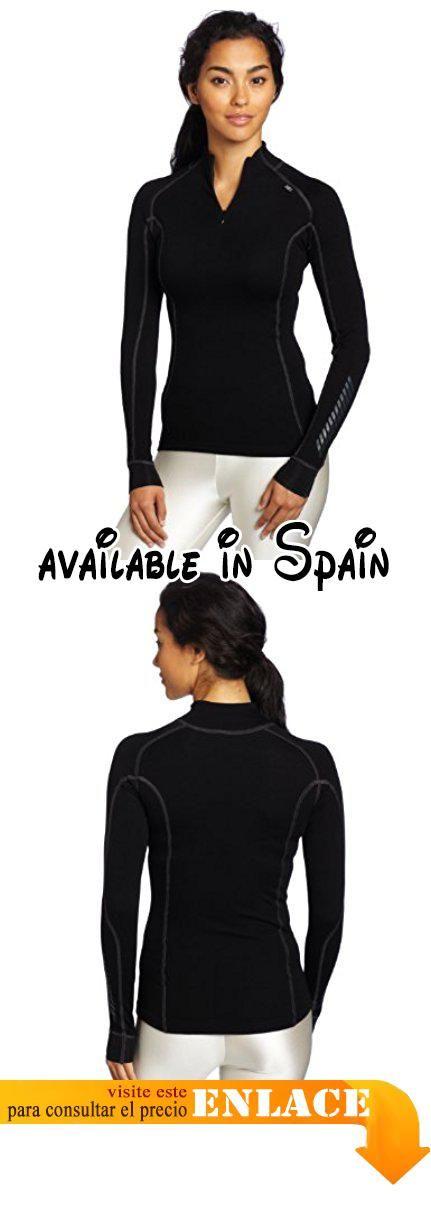 2cdd393b4f B005ZMU670   Helly Hansen W HH Warm Freeze 1 2 Zip - Camiseta para mujer