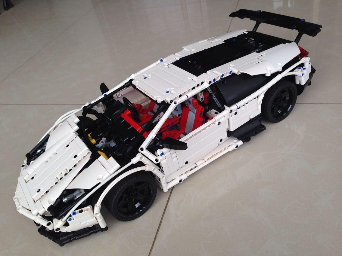lamborghini murcielago sv hasen pinterest lego lego spielzeug und lego fahrzeuge. Black Bedroom Furniture Sets. Home Design Ideas
