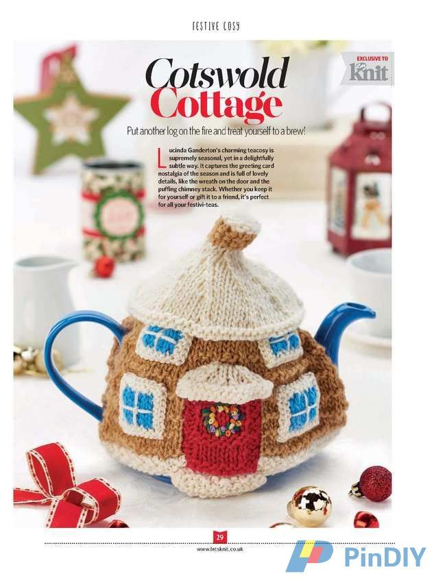 Let\'s Knit-Issue 111-Xmas-2016 - | Cubre teteras | Pinterest | Teteras