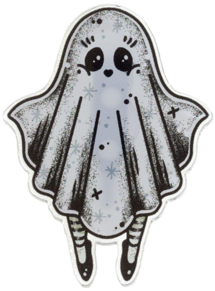 Creep heart ghost girl mini pin | Christmas, Birthday or ...