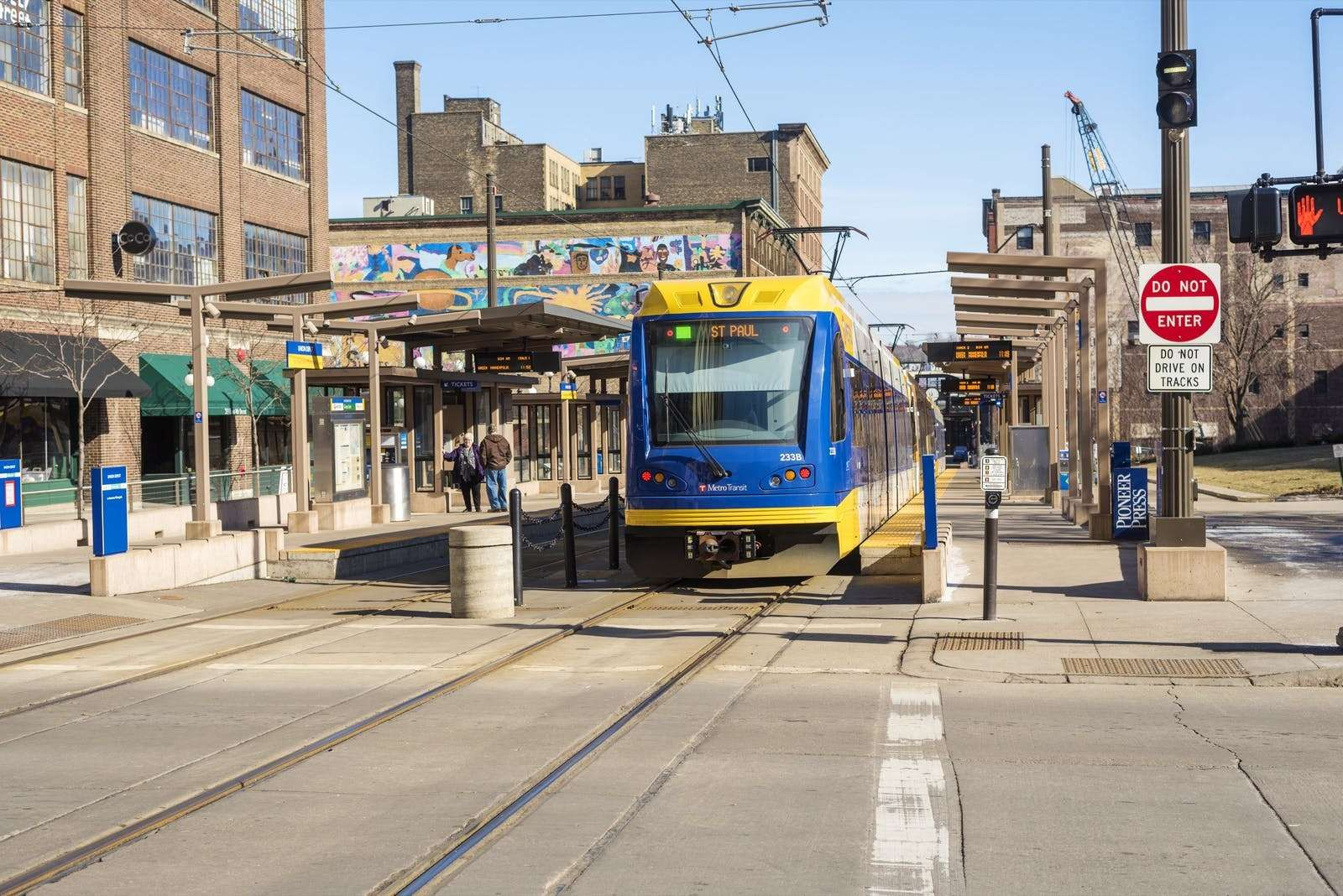 The 30 U.S. Cities With the Best Public Transit - 21. St. Paul, Minnesota Transit Score: 47.4 Population: 285,068 St. Paul's Metro transit carries people from one end of the city that abuts Minneapolis to the other. ©Ben Harding / Shutterstock.com
