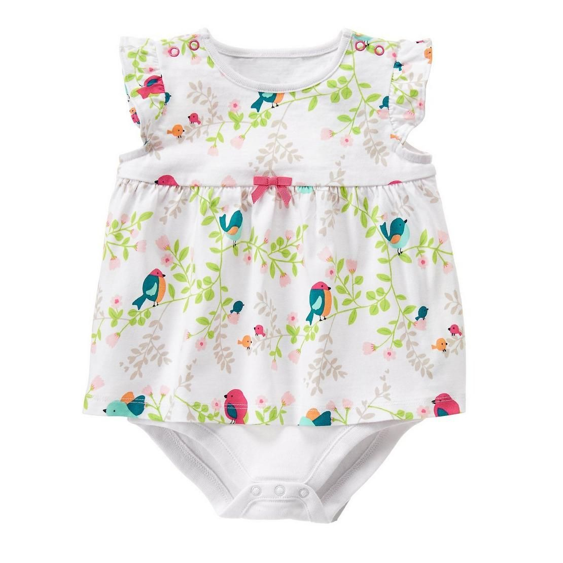 Baby Bird Print Birdy 1-Piece by Gymboree