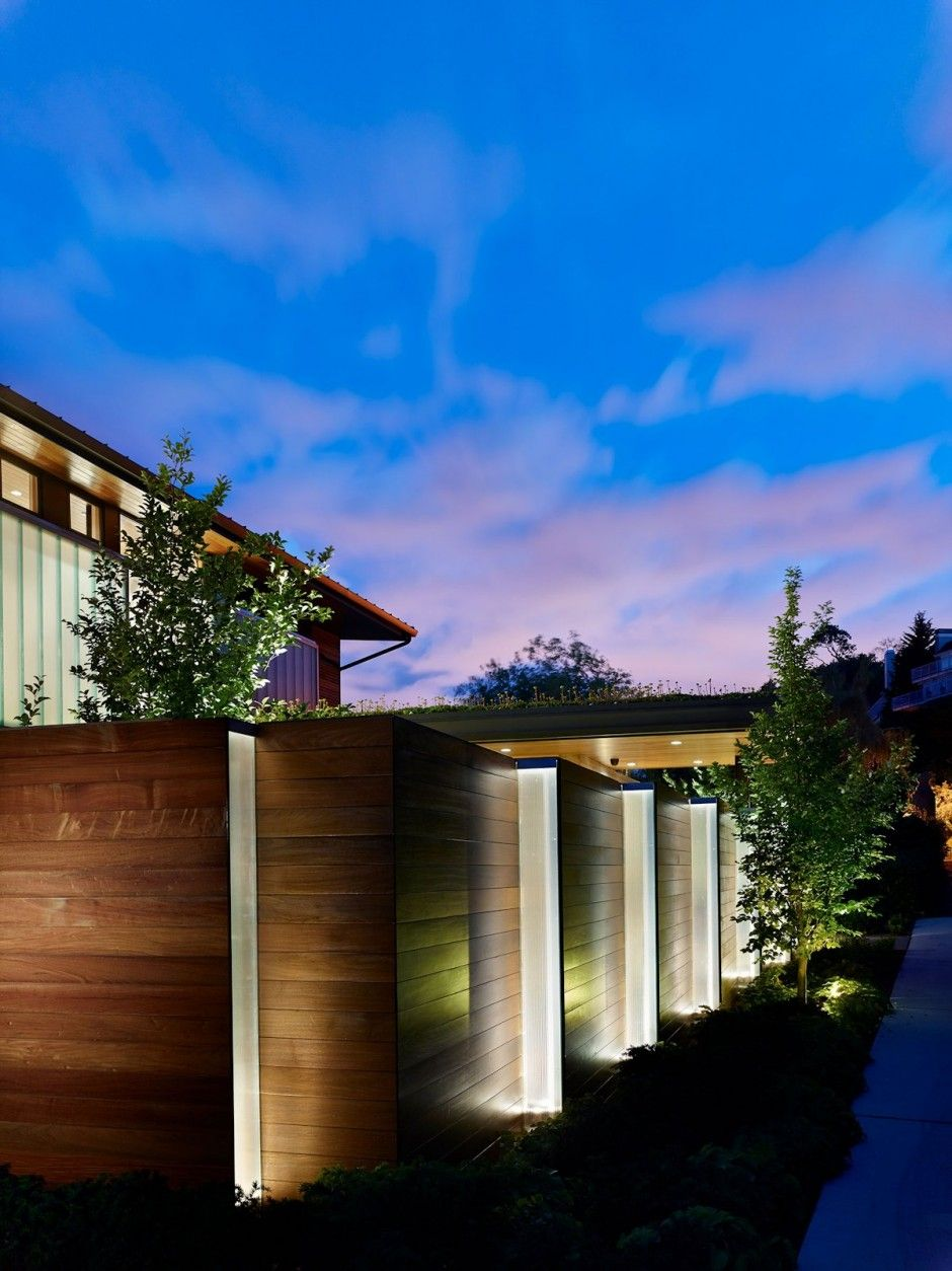 outdoor lighting seattle wa. deforest #architects have designed the courtyard #house in seattle, washington. exterior lightingoutdoor outdoor lighting seattle wa