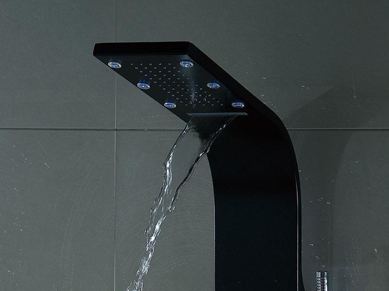 colonne de douche pluie cascade