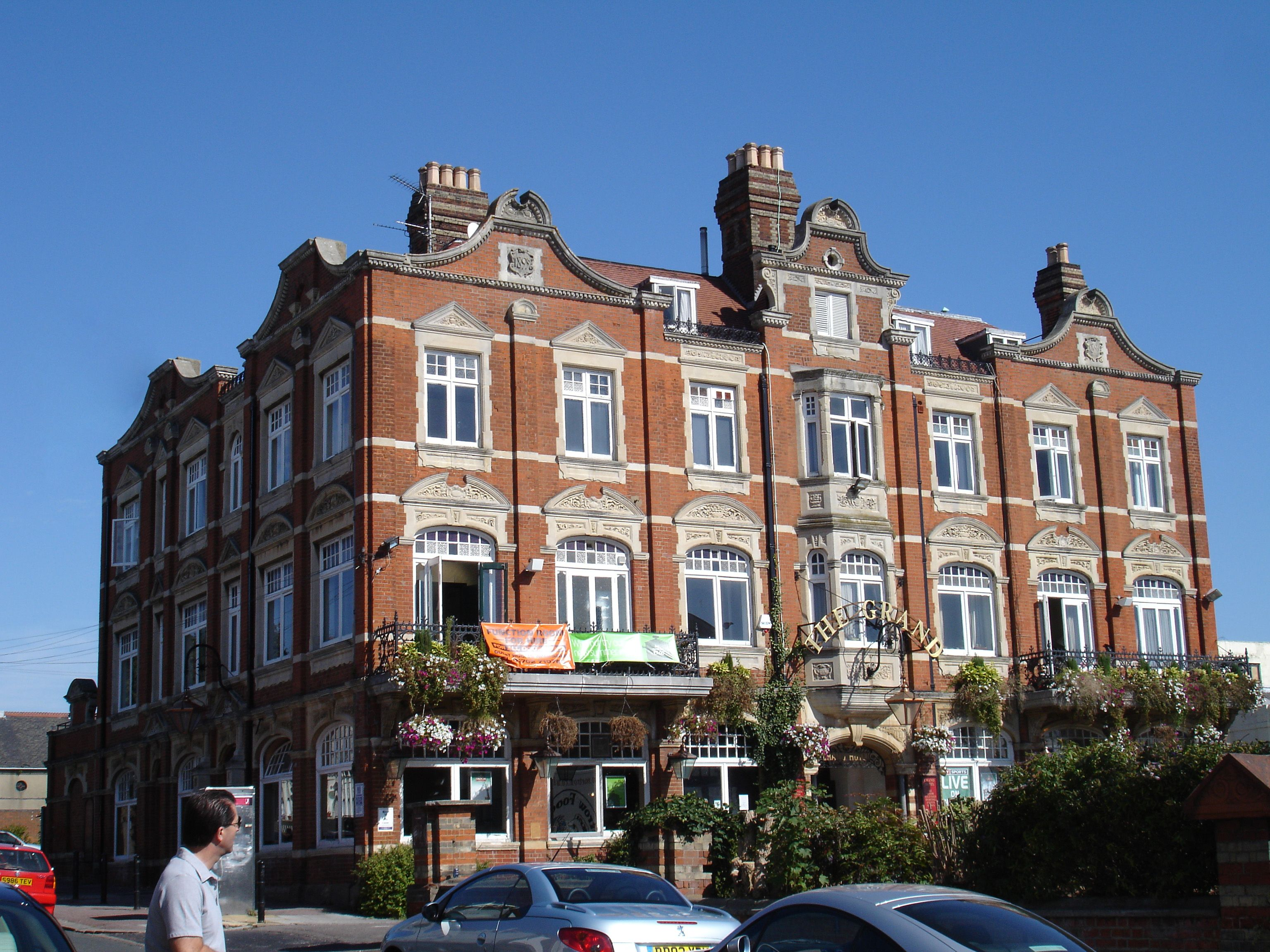 Grand Hotel Leigh On Sea Home Of John Charles Moss Great Grandfather And His Wife Flora Mary Mcpherson 1902 1906