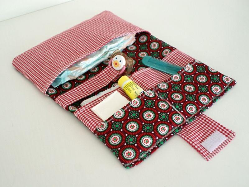 Estuche para pañales y toallitas de Unique Babies por DaWanda.com