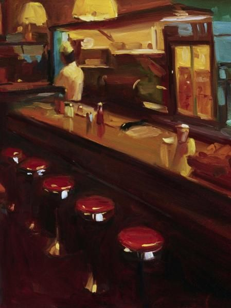 Pam Ingalls - New York Deli - art prints and posters