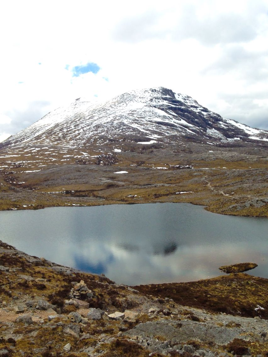 Hiking trip in Shieldaig, Scotland. Lunch at the top of the mountain. Wish I was still back there!