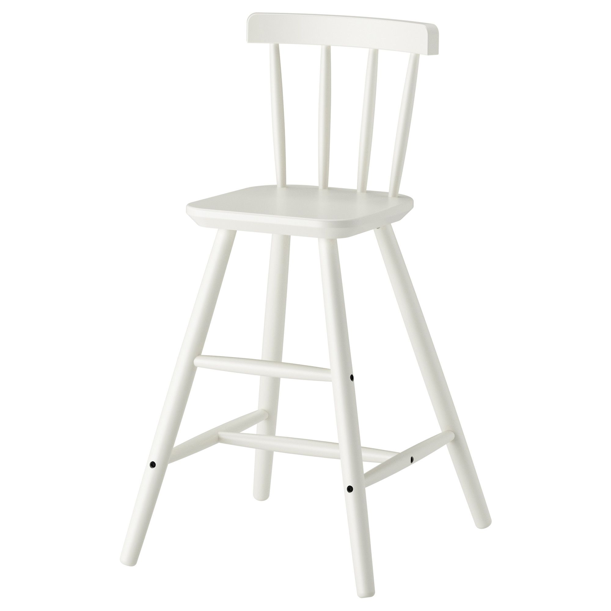 Just the right height for kids better than a booster chair AGAM Junior chair