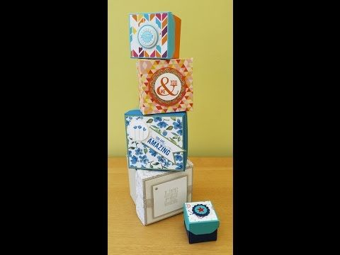 Gift Box Cubes