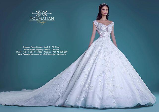 Toumajean #Couture #Bridal #Collection spring summer 2017 #Wedding ...