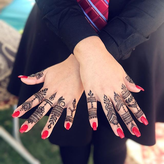 Finger Henna Designs Simple Henna Tattoo Finger Henna Designs