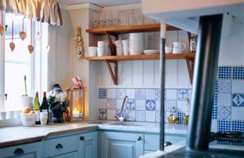 Small Kitchen Ideas You Will Want To Try Today Decoholic Small Country Kitchens Very Small Kitchen Design Blue Country Kitchen