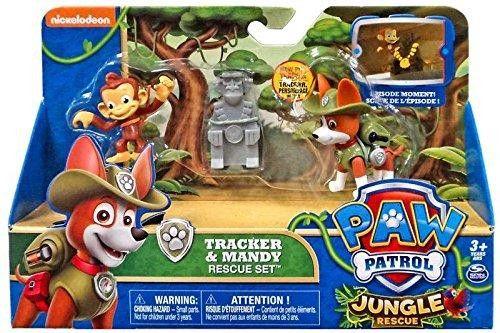Pat Patrouille Tracker Amp Mandy Dans La Jungle Castello