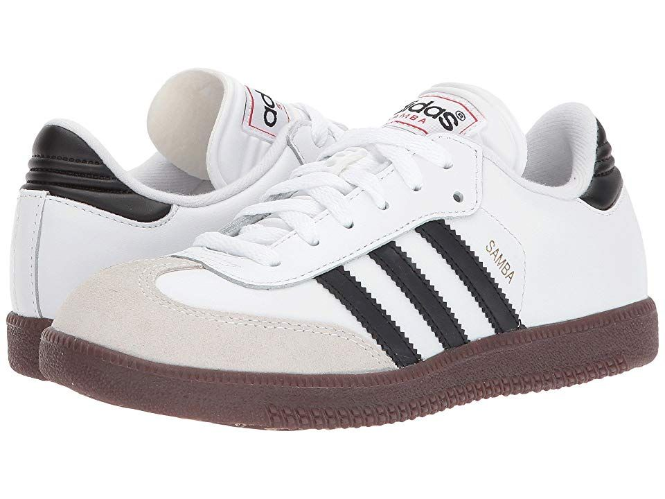 524cd2346 adidas Kids Samba(r) Classic Core (Toddler/Little Kid/Big Kid) Kids Shoes  Running White/Black