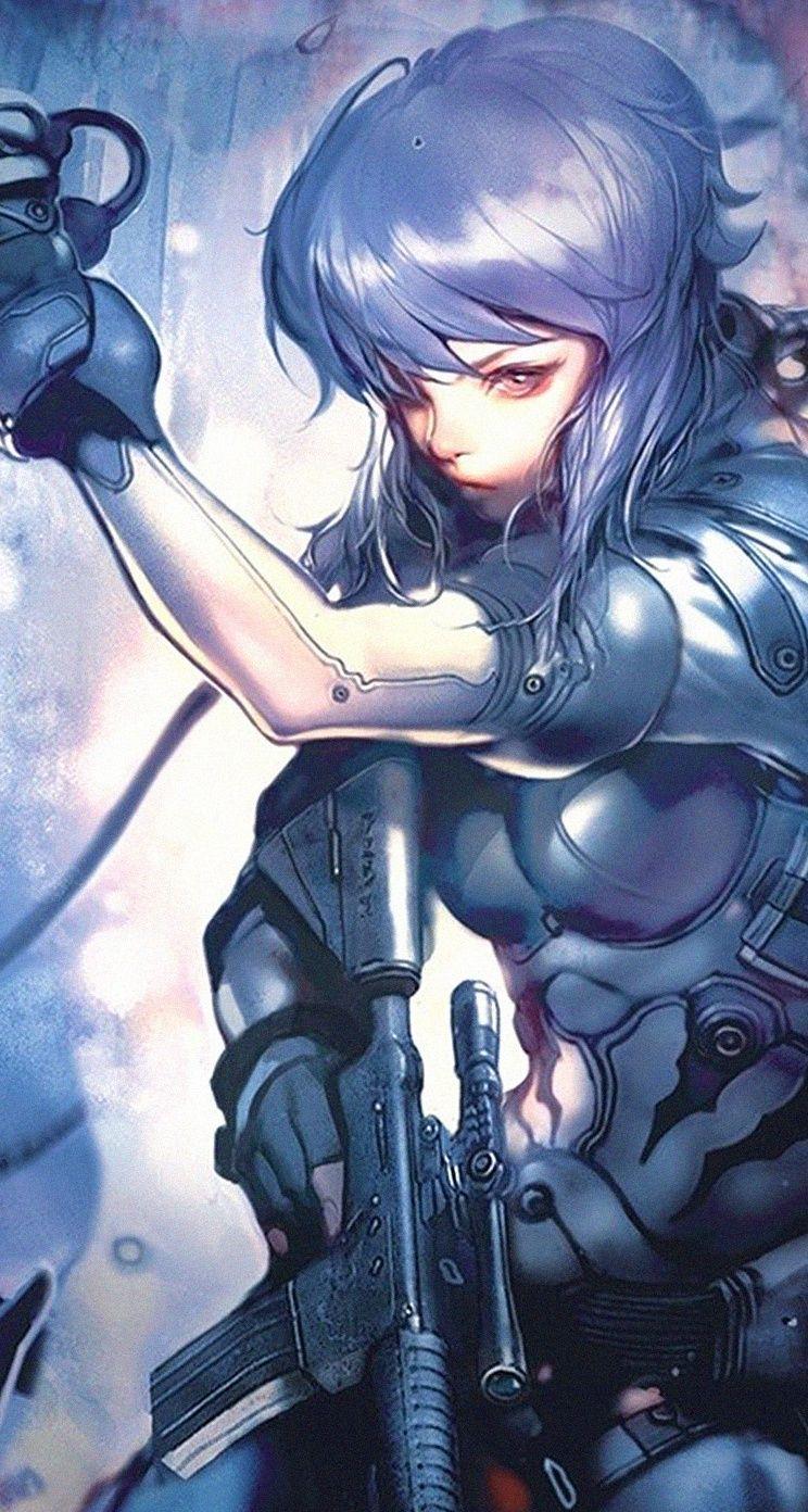 Miss Assassin Cool Anime Gun Girls Iphone Wallpapers Mobile9