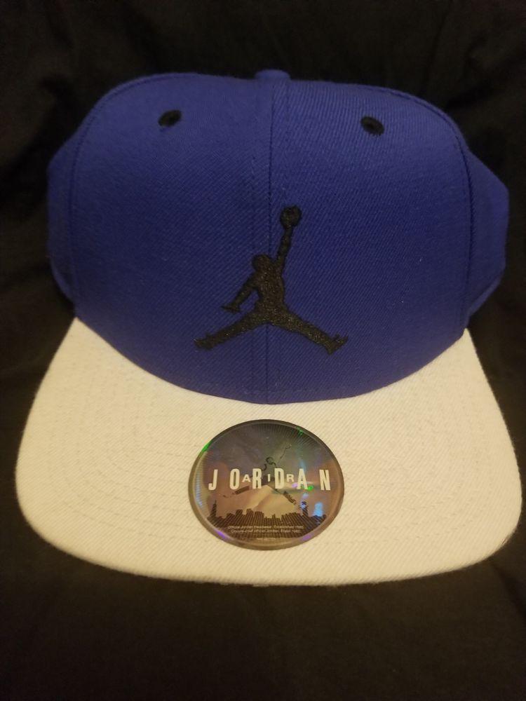 5c3db59f98b2 Nike Unisex Air Jordan Jumpman Snapback Cap Baseball Hat blue with white  bib  fashion  clothing  shoes  accessories  mensaccessories  hats (ebay  link)