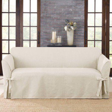 Home Slipcovers Loveseat Slipcovers Cushions On Sofa