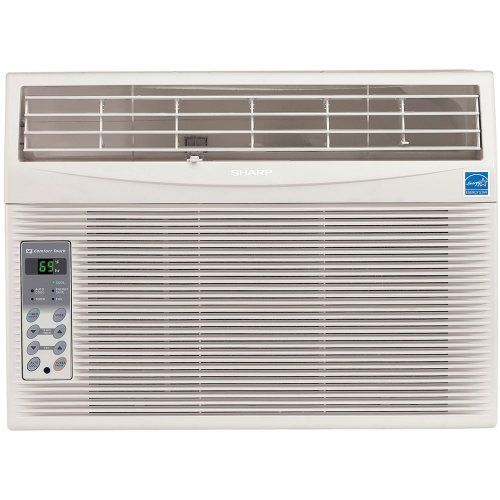 Sharp Electronics Afs120rx Energy Star 12 000 Btu 115 Volt Window Mounted Air C Window Air Conditioner Small Window Air Conditioner Best Window Air Conditioner