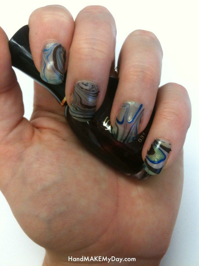 Marbled Nails Trick | Do It And How plus some of the best ideas and ...
