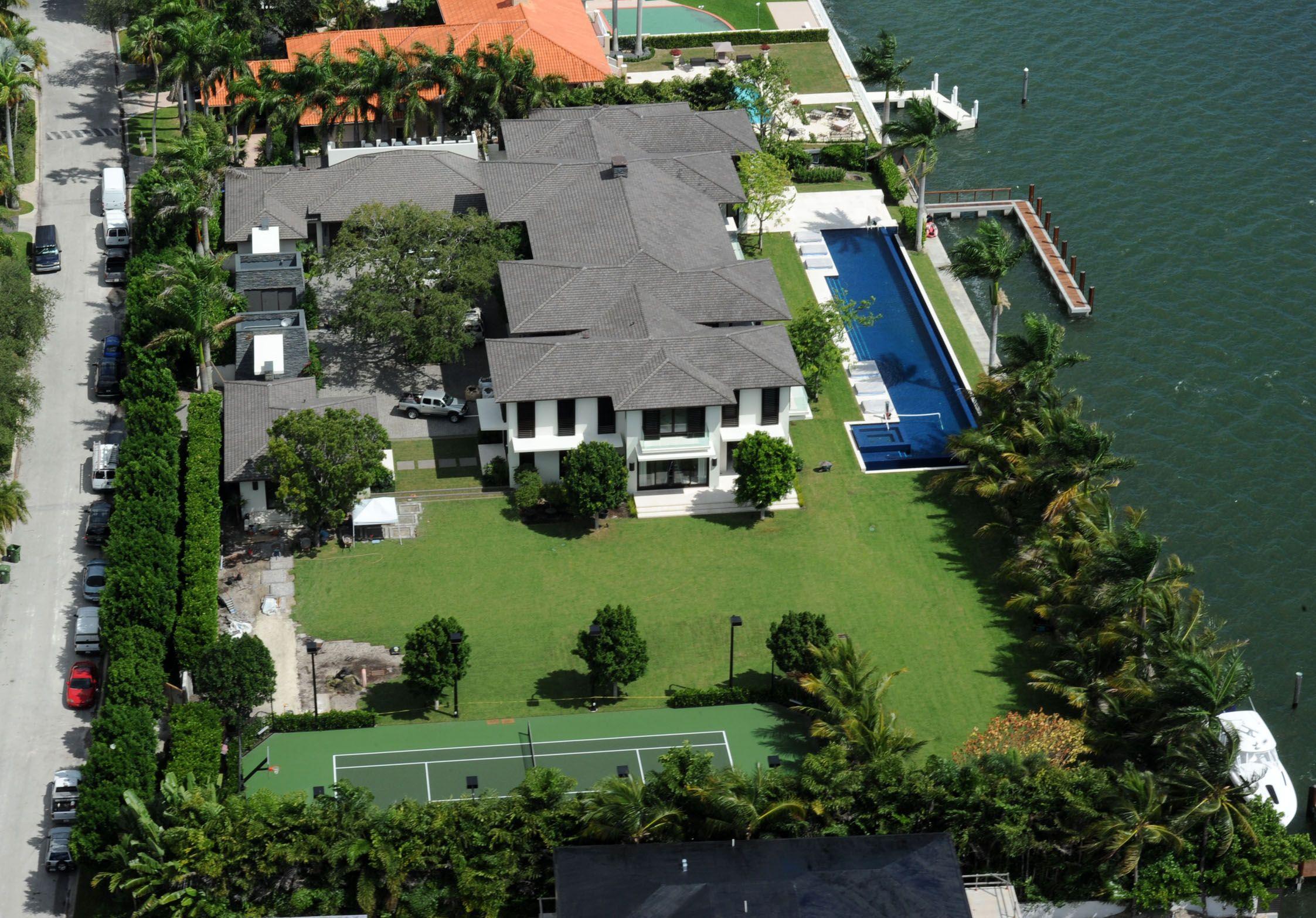 Enrique Iglesias 26m Miami Mansion