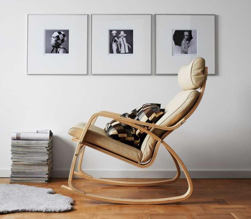 Abbinare divano e poltrona - Poltrona in legno