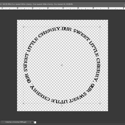 how to make a circular picture in photoshop