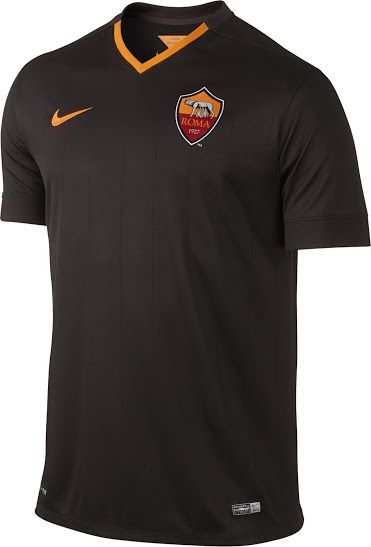 Nike AS Roma 14-15 (2014-15) Home, Away and Third Kits | Camicie ...