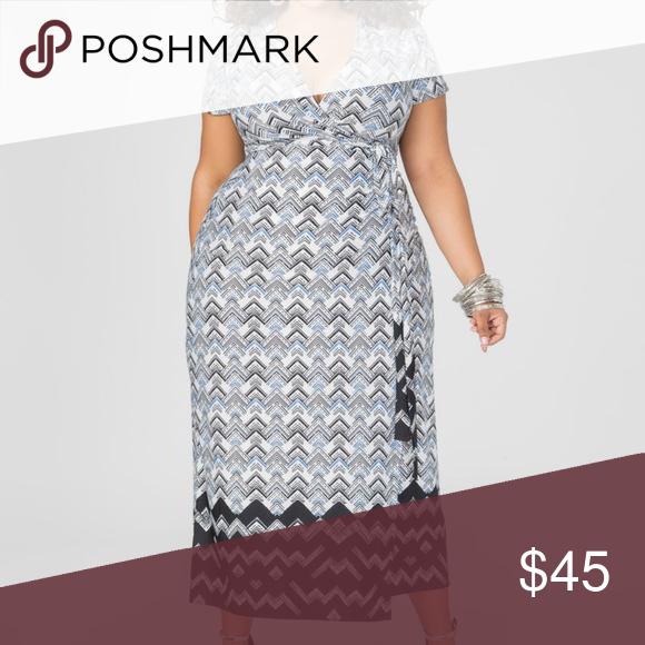 f9dcf9ac09c Ashley Stewart Wrap Dress NWT!! Gorgeous wrap will have you feeling fun and  flirty