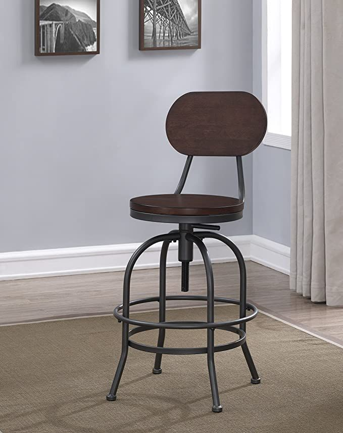 amazon sourceone aldrich adjustable height stool