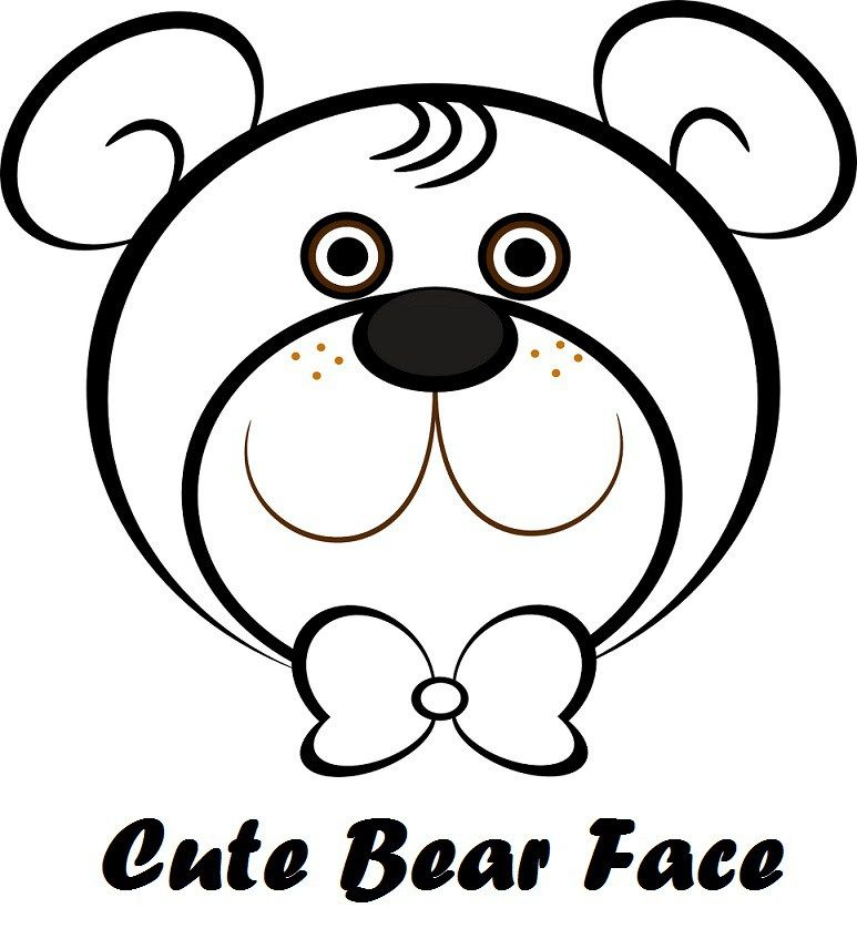 Teddy Bear Face Clip Art Polar Bear Coloring Page Bear Coloring