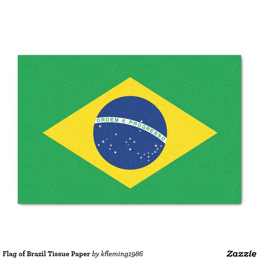 Flag Of Brazil Tissue Paper 10 X 15 Tissue Paper Brazil Flag Flag Coloring Pages Brazilian Flag