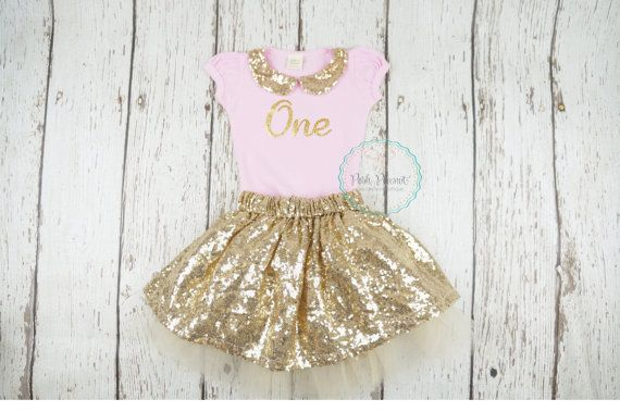 e25a4b966 first birthday outfit 1st Birthday Outfit tutu by PoshPeanutKids ...