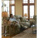 Catnapper - Appalachian Lay Flat Reclining Sofa in Mossy Oak Infinity - 1311