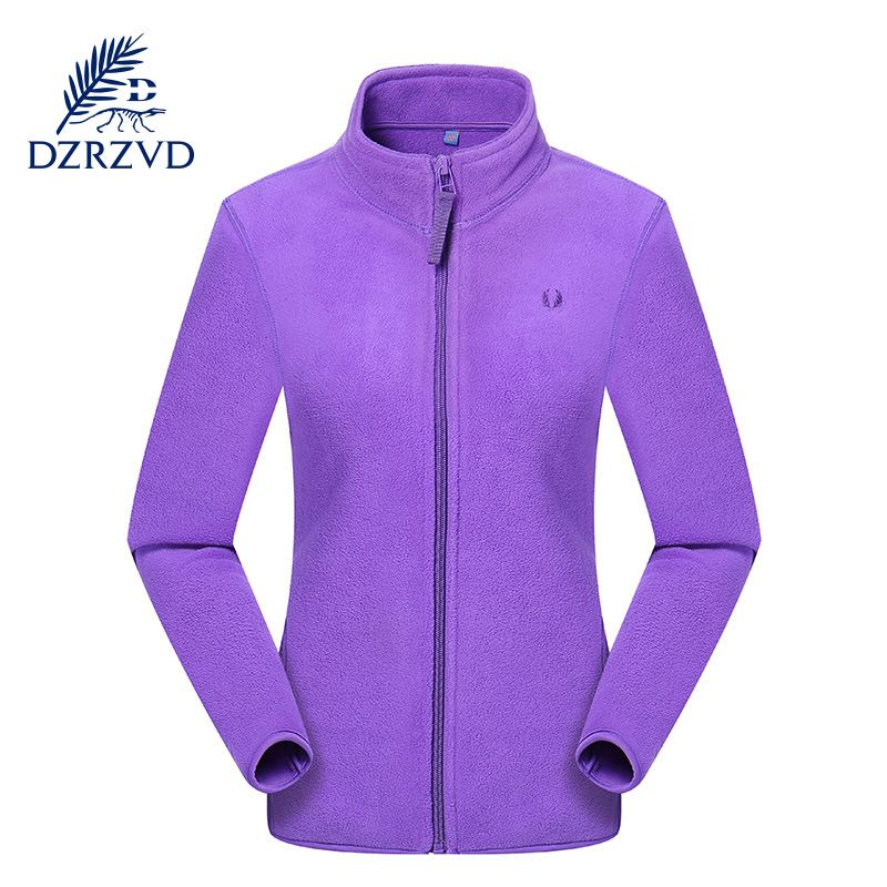 c8dbeddfe0a Winter Autumn polar fleece coat women running fitness Thickening ...