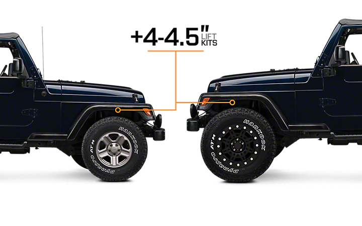 4 4 5 Lift Kits Jeep Wrangler Lift Kits Jeep Tj Jeep Wrangler