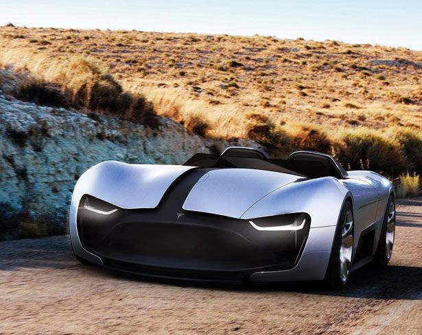 TESLA Roadster Y Concept Car by Vinícius Buch | Tesla ...