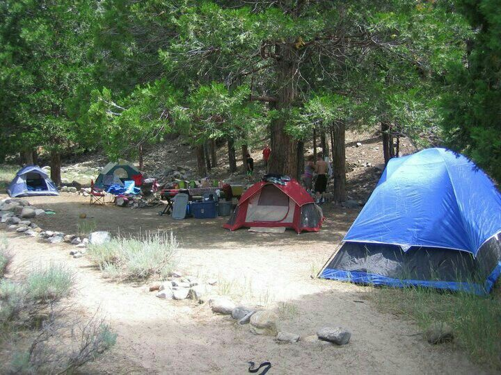 Camping & Fishing at South Fork Campground in the San ...