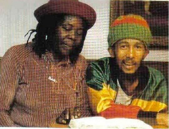 How Africa - Last photo taken of Bob Marley before he died of cancer in 1981 - How Africa
